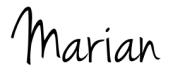 Handtekening Marian